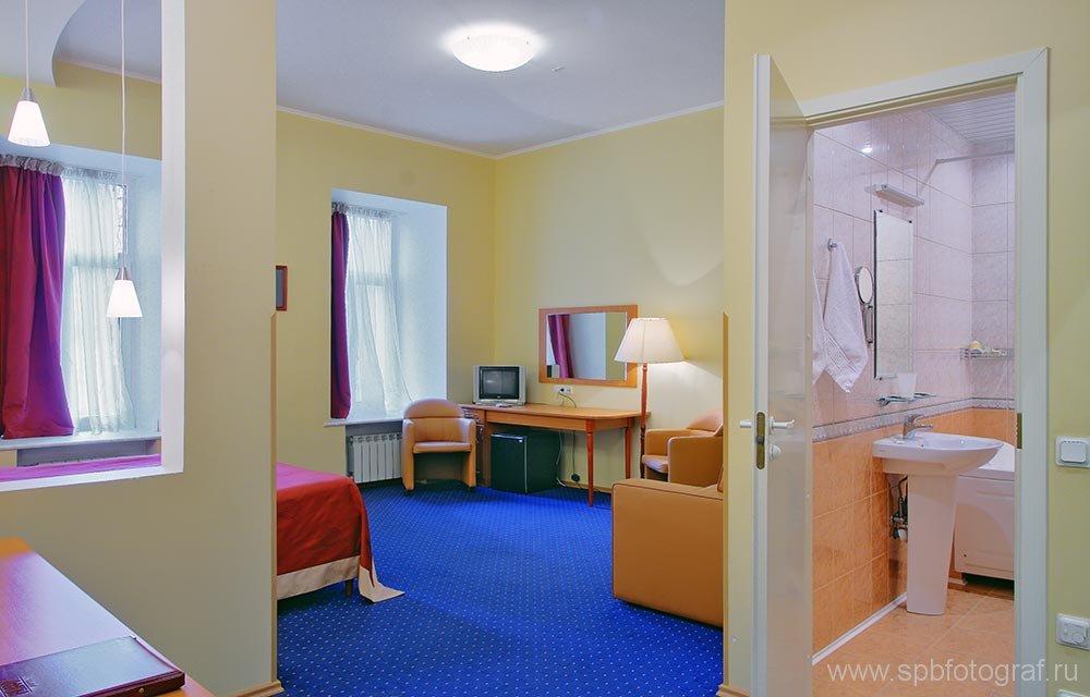 Фотосъемка интерьера гостиницы