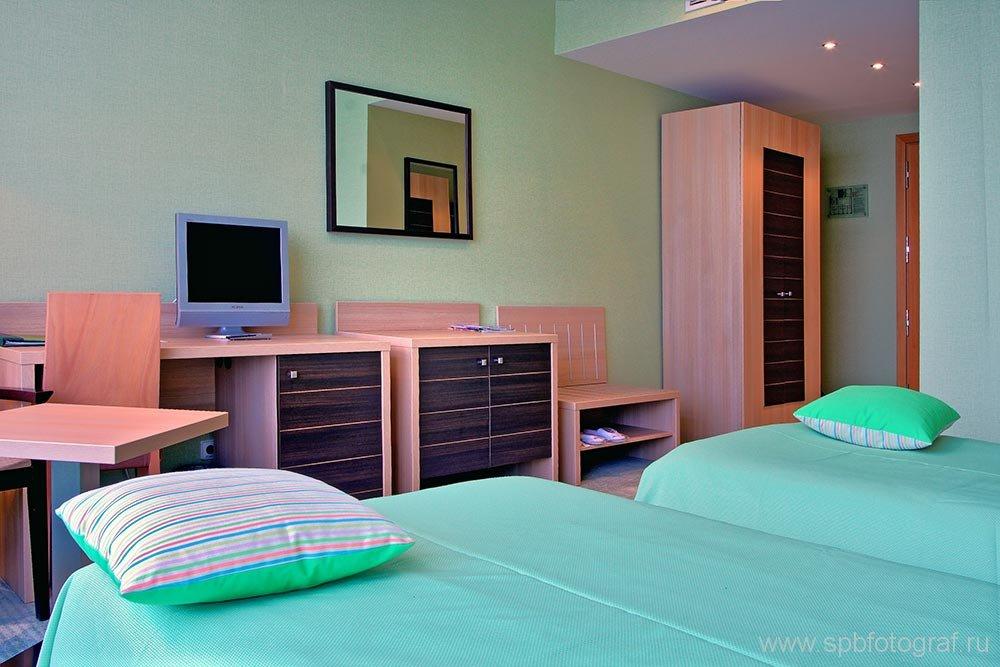 Съемка интерьера гостиницы